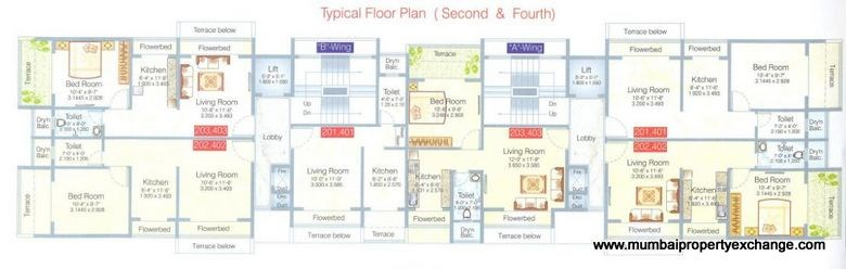 Krishna Residency Floor Plan