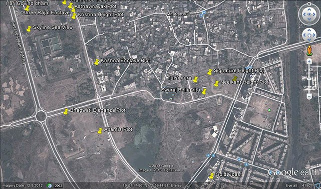 Bhagwati Eleganza Google Earth
