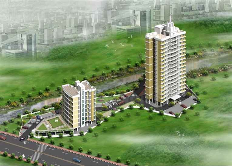 Flat for sale or rent in Vijay Residency, Thane West