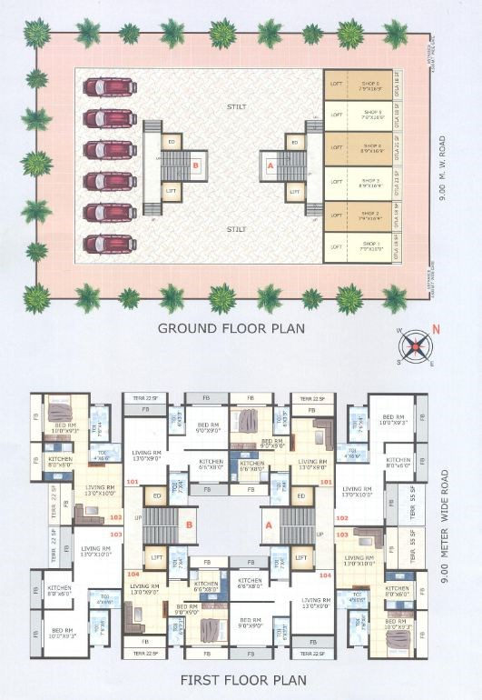 Vista Garden Floor Plan