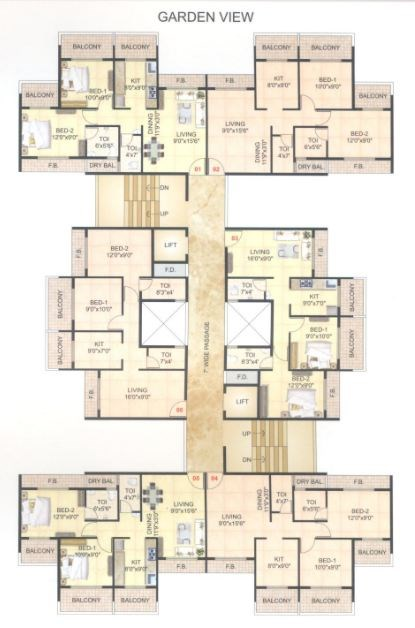 Prathamesh Home Floor Plan