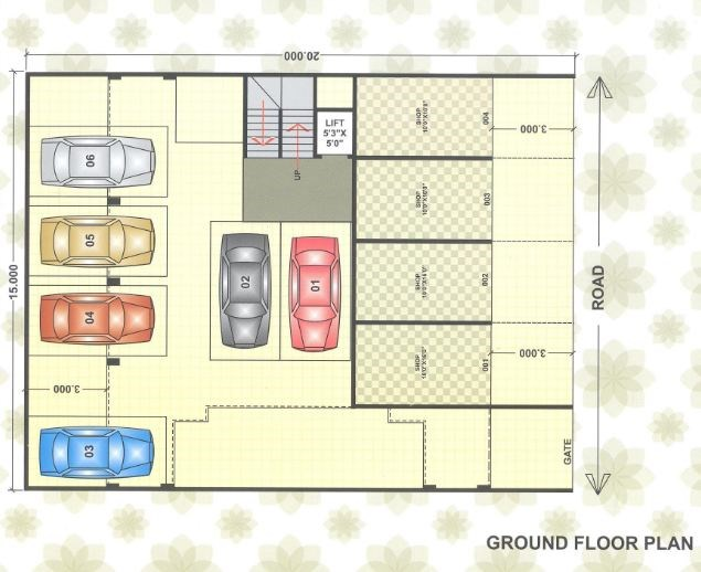 Shree Aradhana Floor Plan