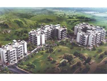 Flat on rent in Hill View Homes, New Panvel