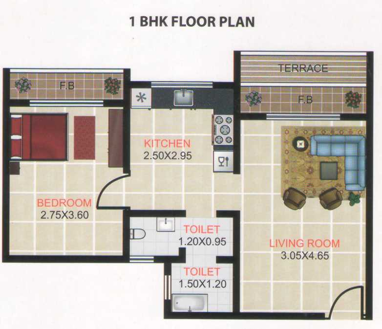 6858 Oth Floor Plan - Hill View Homes, New Panvel