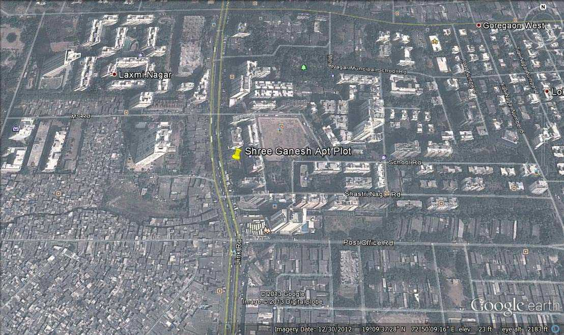 6888 Oth Google Earth - Shri Ganesh Apartment, Goregaon West