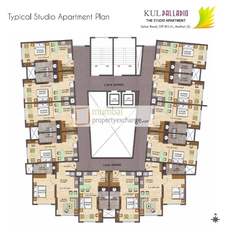 Kul Palladio Floor Plan