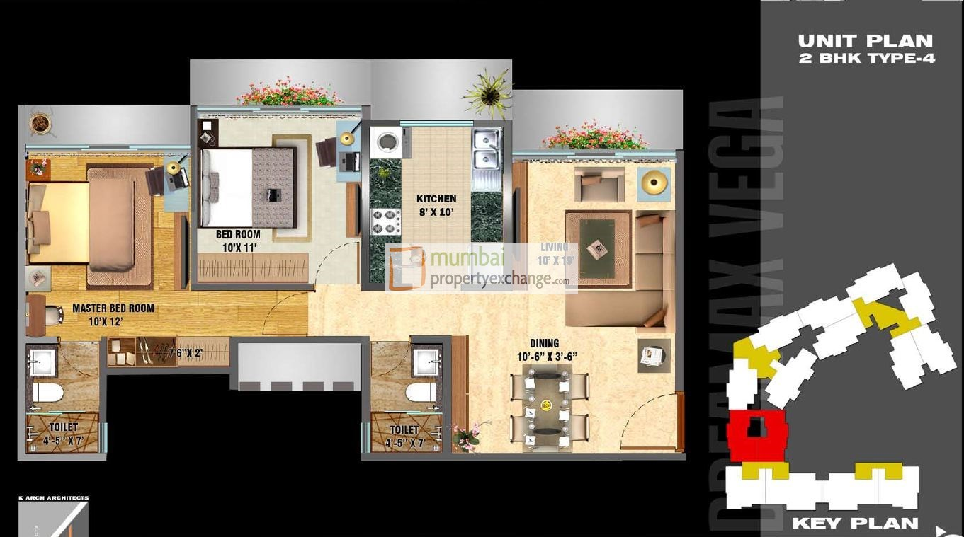 Dreamax Vega Floor Plan
