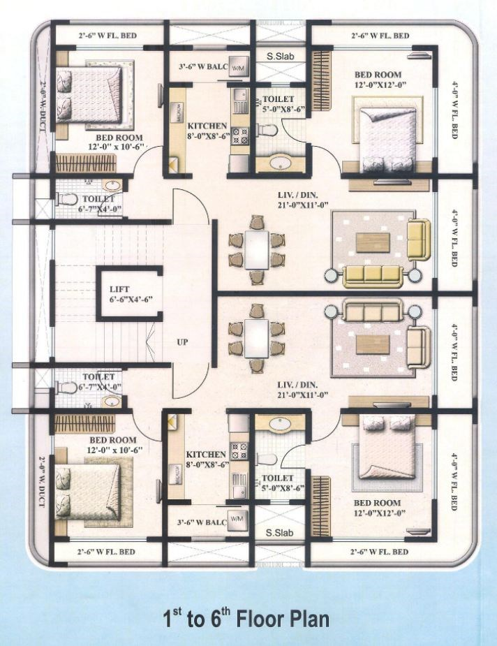 Shree Shankar Paradise Floor Plan