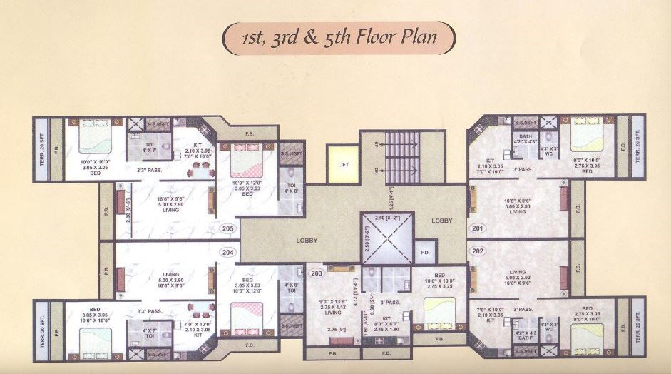 Vision Prayer Floor Plan