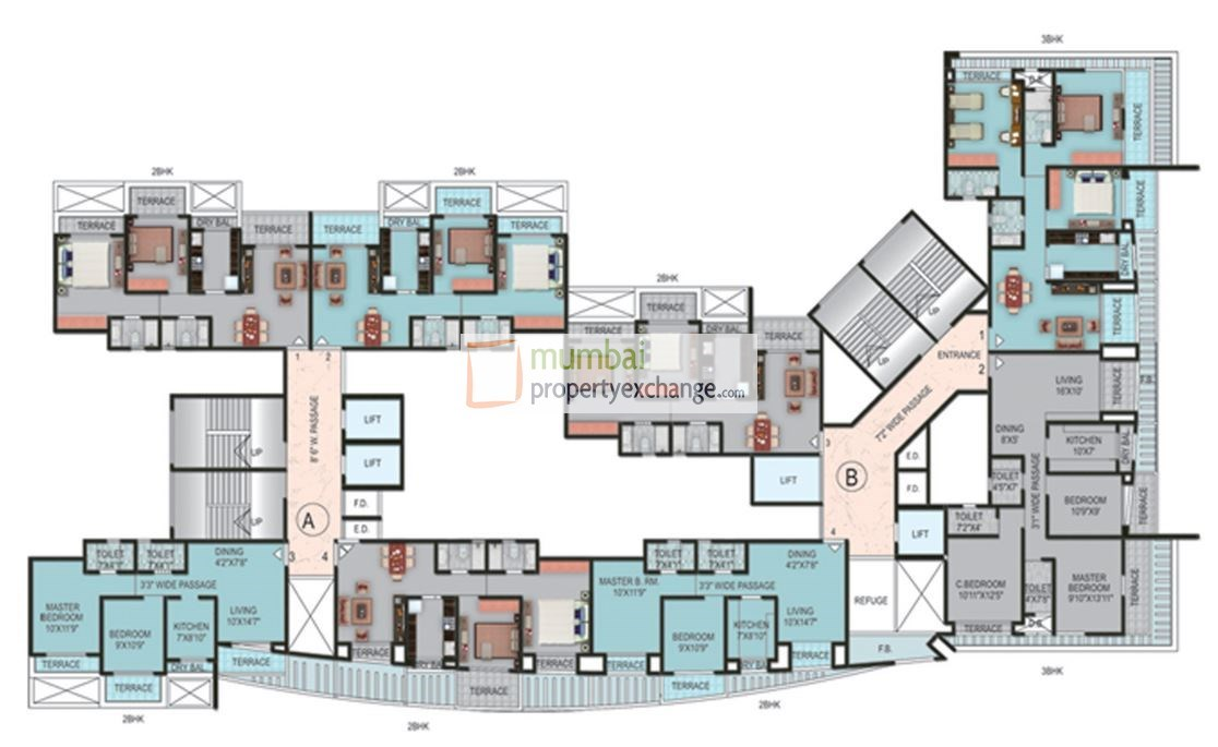 Siddhivinayak Utopia Floor Plan