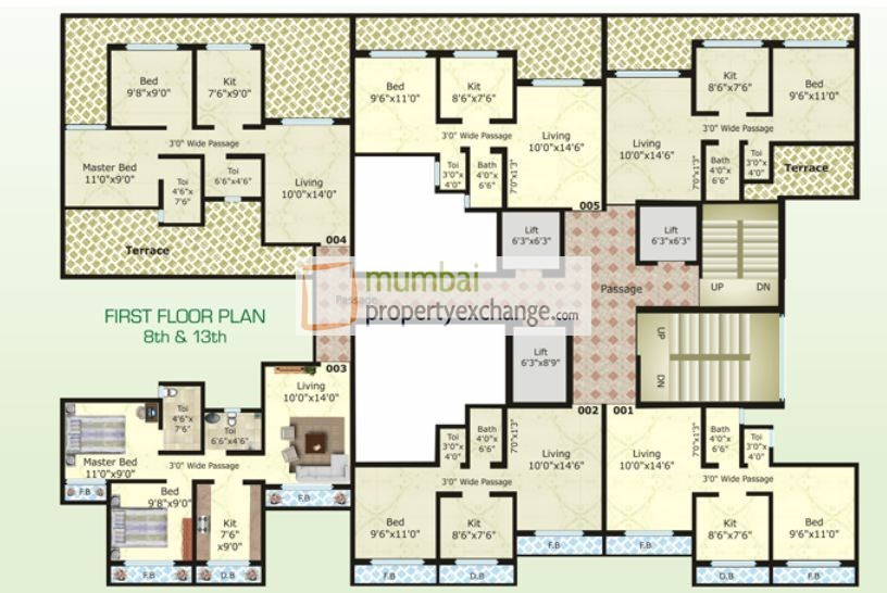 Kumkum Floor Plan