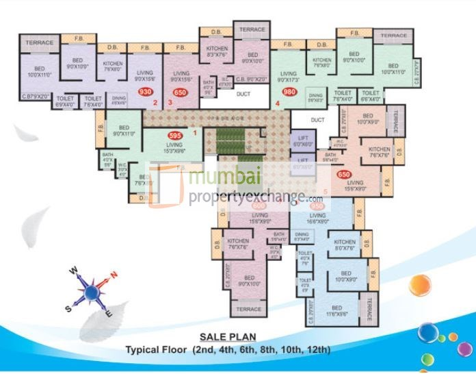 Imperial Height Floor Plan