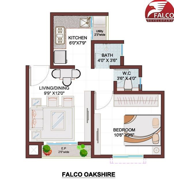 Oakshire Floor Plan
