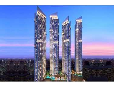 Flat for sale in Auris Serenity 1, Malad West