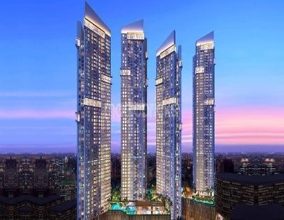 Flat on rent in Auris Serenity 1, Malad West