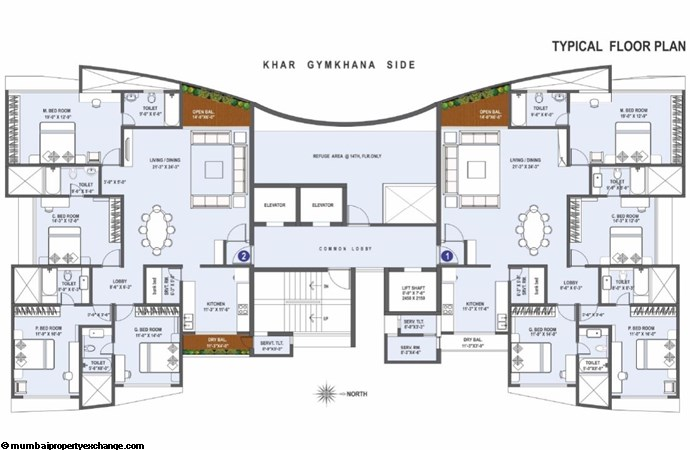 Supreme Badrinath floor plan