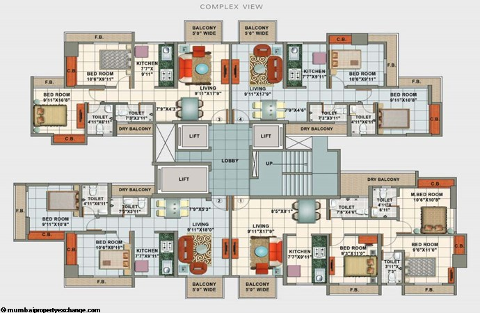 Marigold Floor Plan