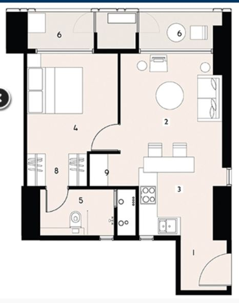 9277 Oth Floor Plan - Lodha Enchante, Wadala