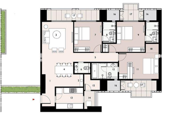 9277 Oth Floor Plan 10  - Lodha Enchante, Wadala