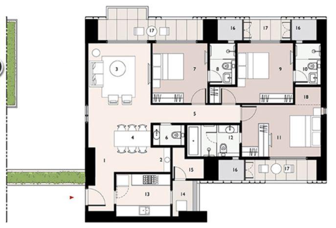 9277 Oth Floor Plan 11  - Lodha Enchante, Wadala