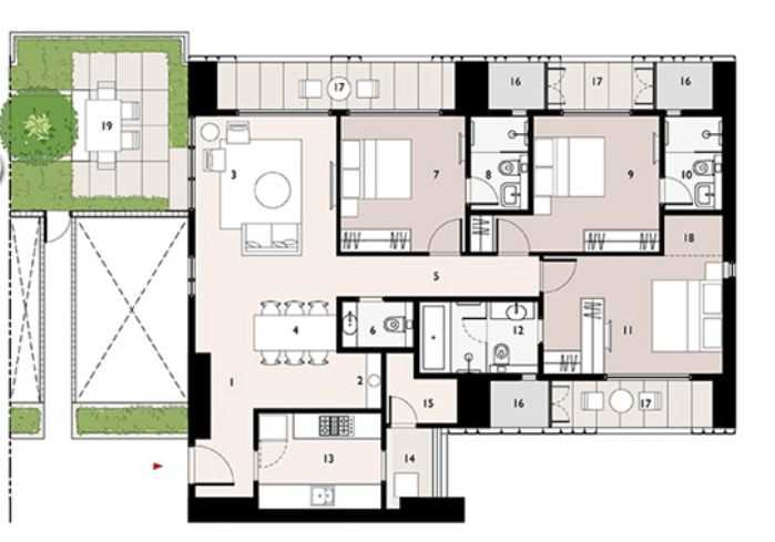 9277 Oth Floor Plan 12  - Lodha Enchante, Wadala
