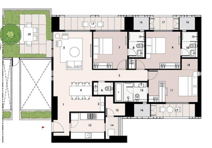 9277 Oth Floor Plan 12  - Lodha Enchante, Wadala