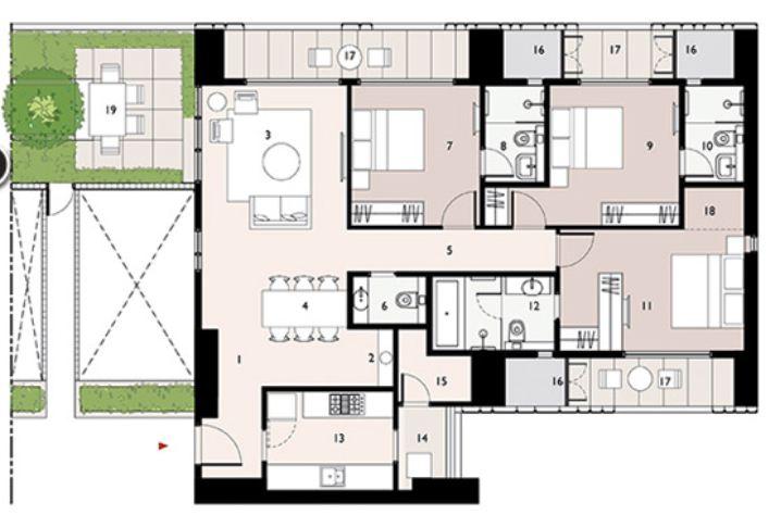 9277 Oth Floor Plan 13  - Lodha Enchante, Wadala