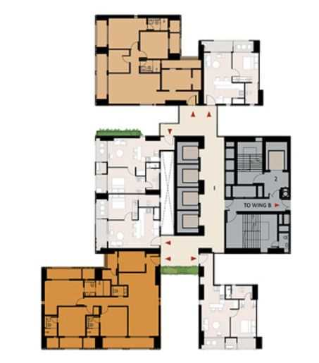 9277 Oth Floor Plan 14  - Lodha Enchante, Wadala