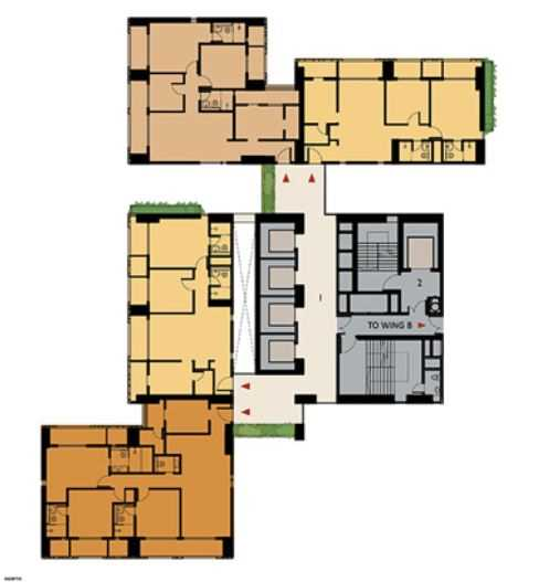 9277 Oth Floor Plan 15  - Lodha Enchante, Wadala