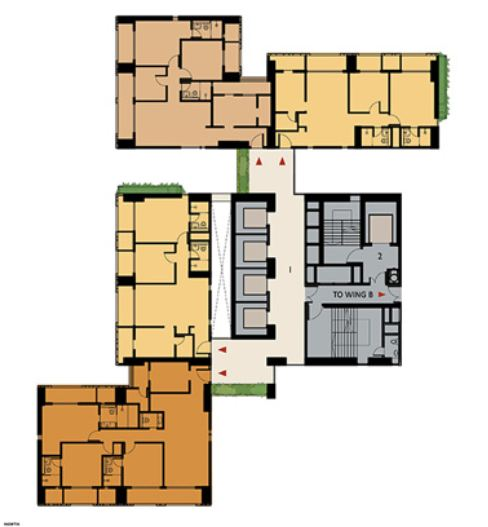 9277 Oth Floor Plan 15  - Lodha Enchante, Wadala