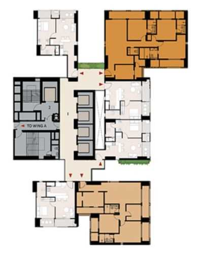9277 Oth Floor Plan 16  - Lodha Enchante, Wadala