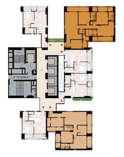 9277 Oth Floor Plan 16  - Lodha Enchante, Wadala