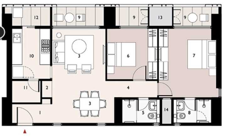 9277 Oth Floor Plan 2  - Lodha Enchante, Wadala
