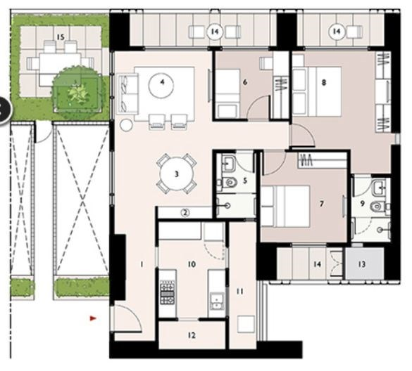 Lodha Enchante Floor Plan