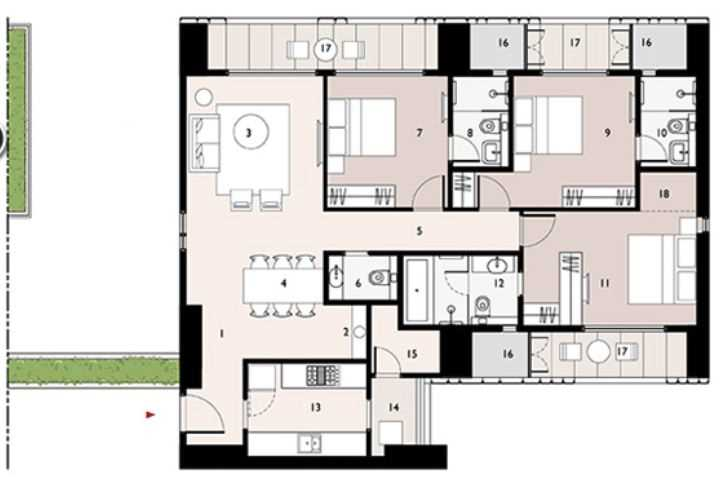 9277 Oth Floor Plan 9  - Lodha Enchante, Wadala
