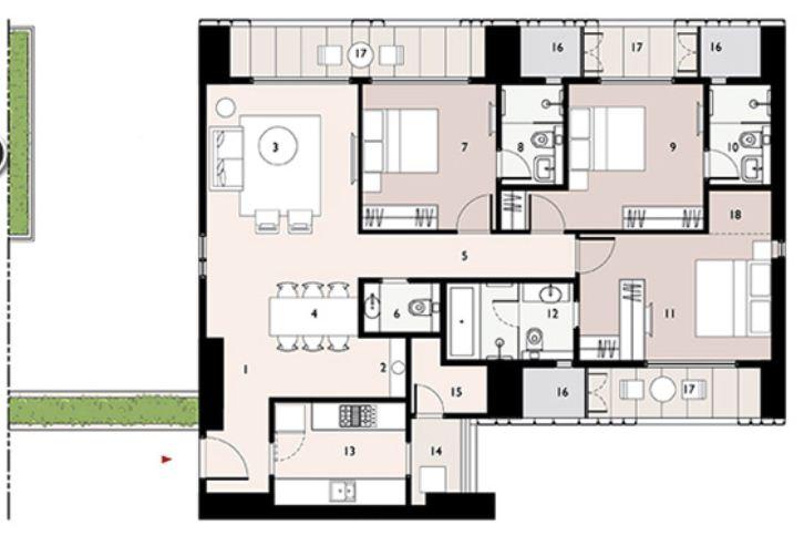 9277 Oth Floor Plan 9  - Lodha Enchante, Wadala