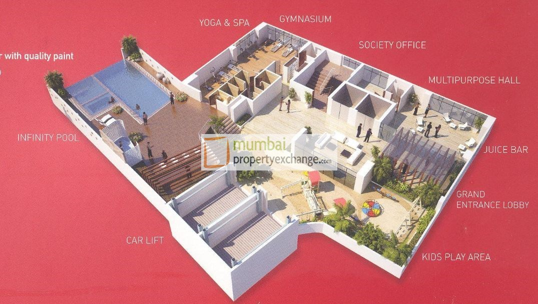 Shree Shakun Heights Floor Plan