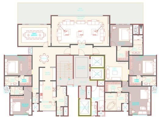 Avenue 54 Floor Plan