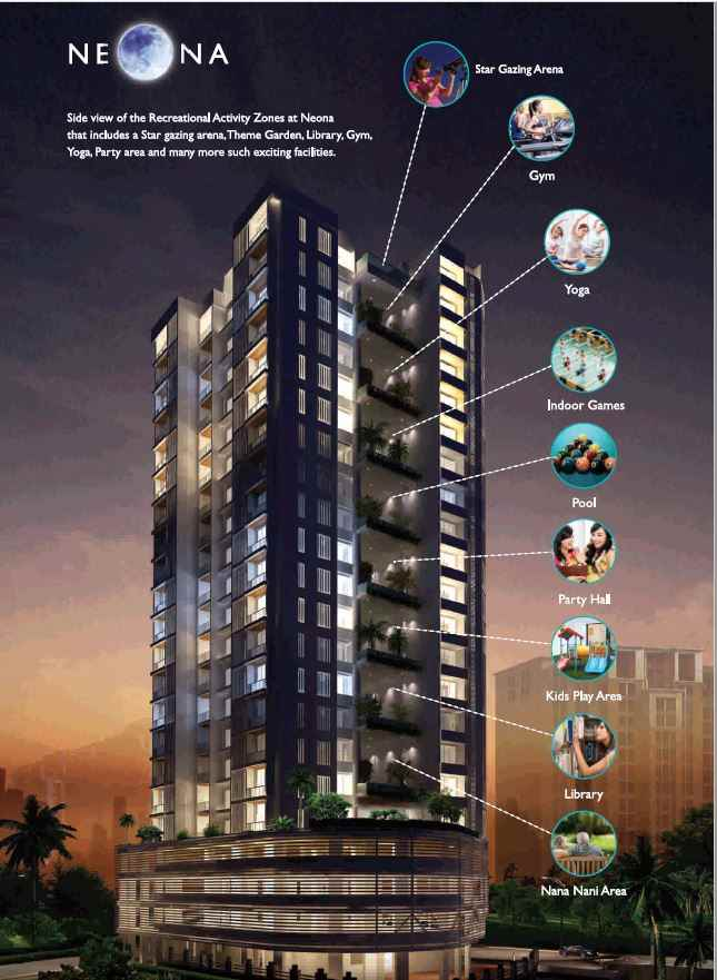 Flat for sale in Neona, Mulund West