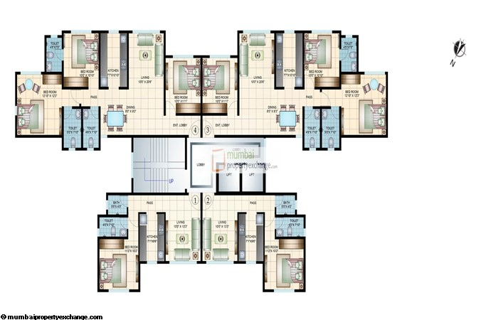 Tivon Park Floor plan