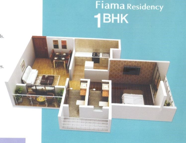 Fiama Residency Floor Plan