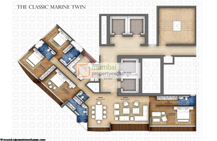 HBS Marine View Floor Plan