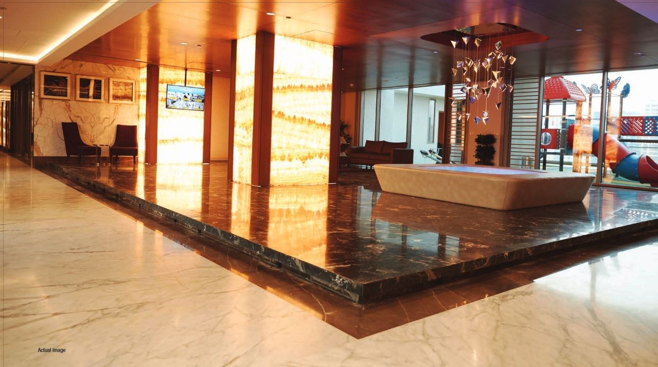 Adani Heights Grand Entrance Lobby