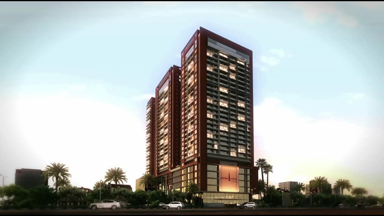 Adani Western Heights Elevation