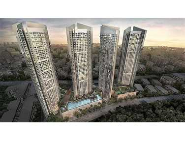 Flat on rent in Auris Serenity , Malad West