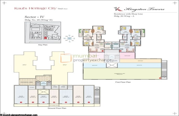 Kingston Towers Floor plan 1