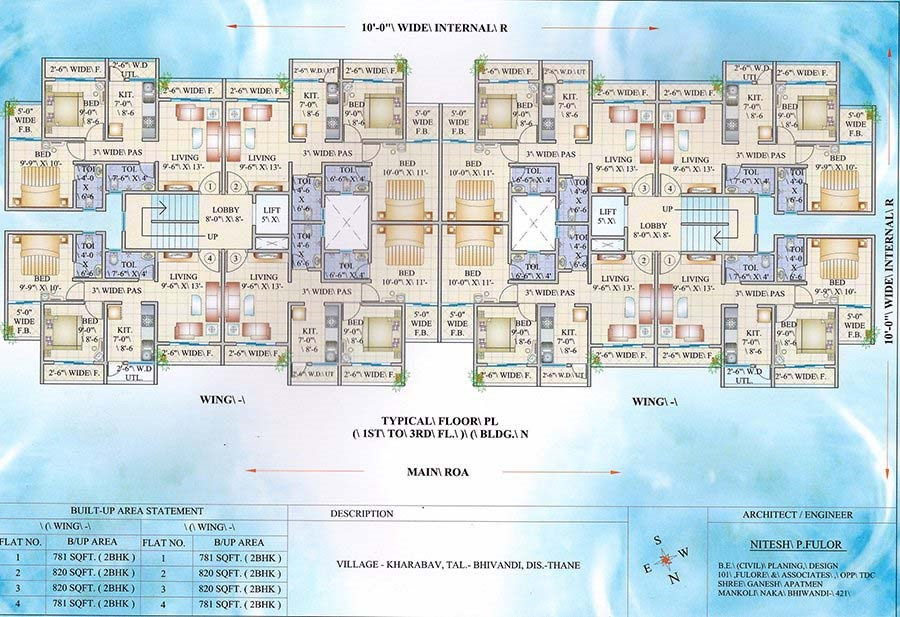 Mahadev Residency Floor Plan