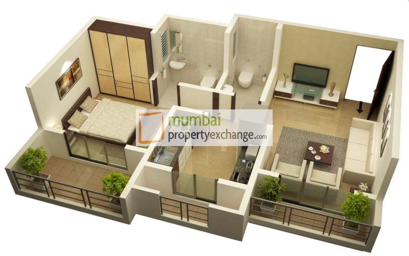 Maitry Heights Floor Plan