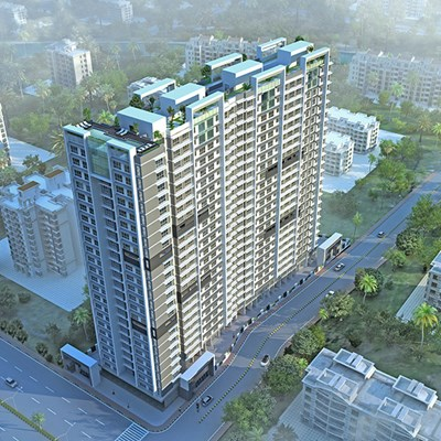 Flat on rent in Kalpavruksh Height, Kandivali West